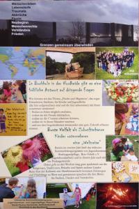 Plakat Weltreise